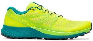 Salomon S/Lab Yellow Sense Ride Sneakers