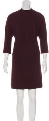 3.1 Phillip Lim Long Sleeve Mini Dress Plum Long Sleeve Mini Dress
