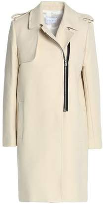 Sandro Cotton-Blend Twill Coat