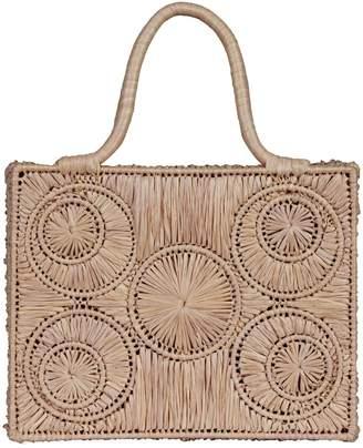 Sophie Anderson Raffia Basket Bag
