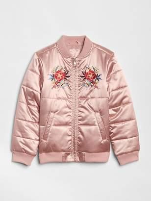 Gap Embroidered Bomber Jacket