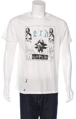 Enfants Riches Deprimes Destroyed Graphic T-Shirt w/ Tags