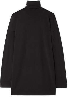 Acne Studios Norton Merino Wool Turtleneck Sweater - Black