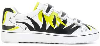 Ash touch-strap printed sneakers