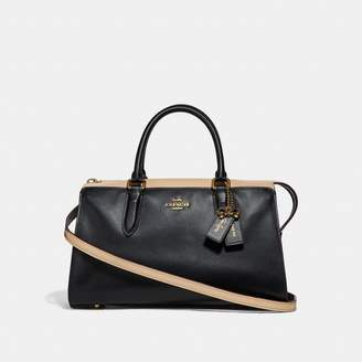Coach Selena Bond Bag In Colorblock