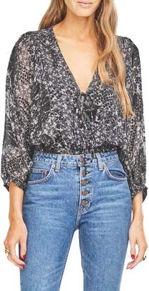 Astr Shawna Floral Blouse