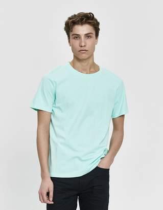 Maison Margiela S/S Cotton Jersey T-Shirt 3-Pack in Peach/Ciel/Mint