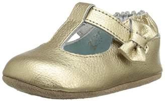 Robeez Girls' T-Strap Mary Jane-Mini Shoez Crib Shoe