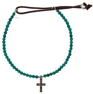 Catherine Michiels crucifix bracelet