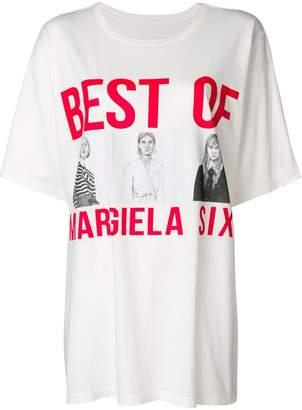 MM6 MAISON MARGIELA Best Of Margiela T-shirt