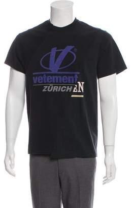 Vetements Cut Up T-Shirt w/ Tags w/ Tags