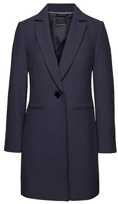 Banana Republic Italian Melton Car Coat