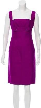Versace Wool & Silk-Blend Dress