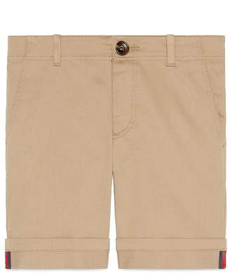 Gucci Stretch Cotton Shorts