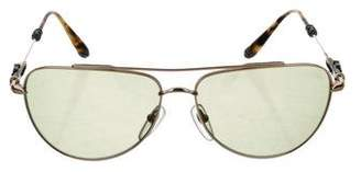 Chrome Hearts Slam Aviator Sunglasses