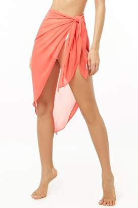 d04f5ce92cdca Forever 21 Chiffon Sarong Swim Cover-Up