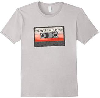 Doesn't Fit In USB Port Tape Tshirt