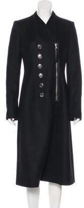Altuzarra Long Wool-Blend Coat