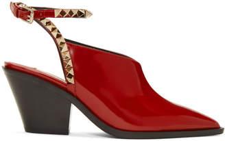 Valentino Red Garavani Rockstud No Limit Slingback Heels