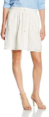 Tom Tailor Women's Hole Embroidered Mini Skirt,12 (Manufacturer Size: )