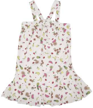 Juicy Couture FRUIT SALAD PRINT POPLIN DRESS FOR GIRLS