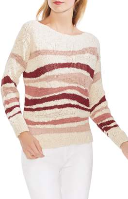 Vince Camuto Variegated Stripe Sweater