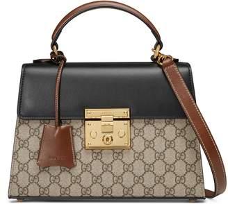 Gucci Padlock small GG top handle bag