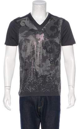 Versace Embellished Graphic T-Shirt