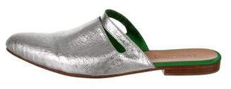 Rachel Comey Pointed-Toe Leather Mules