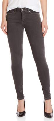 Levi's Faded Black 711 Skinny Jeans