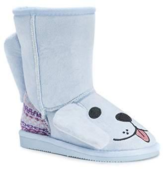 Muk Luks Kids' Animal Puppy Pull-on Boot