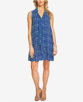 CeCe Tie-Neck Shift Dress $129 thestylecure.com