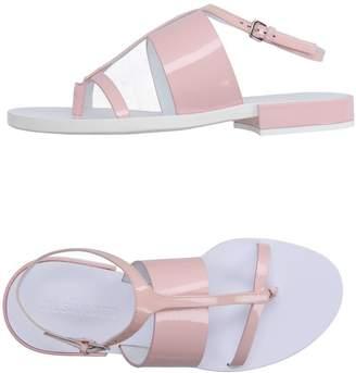 Jil Sander Toe strap sandals
