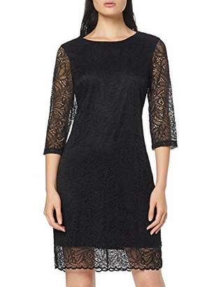 Vila NOS Women's Viblond 3/4 Sleeve Dress-Noos Party Black, Medium