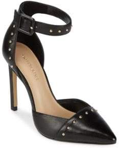 Saks Fifth Avenue Point-Toe Studded Pumps