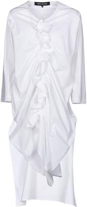 Ter Et Bantine Front Ruffle-detailed Long Blouse