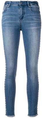 Armani Exchange studded jeans