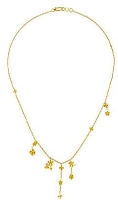 Pippa Small 18K Daisy Necklace