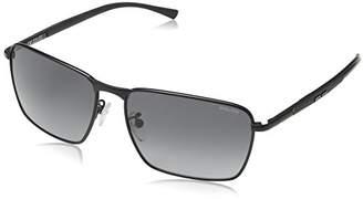 Police Men's S8966 Big Match 1 rectangular Sunglasses