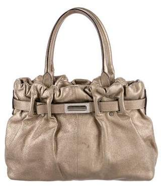 Lanvin Metallic Leather Shoulder Bag