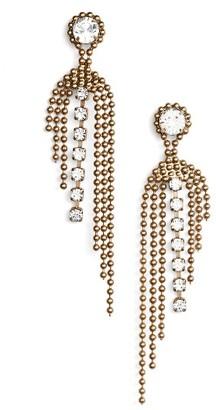 Women's Loren Hope Glen Fringe Earrings $78 thestylecure.com