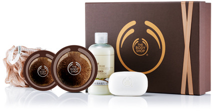 The Body Shop Medium Coconut Gift Set