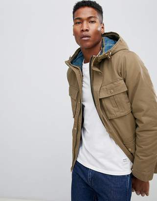 Jack and Jones Vintage Parka With Removable Quilted Jacket