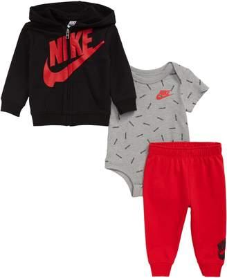Nike JDI Toss Hoodie, Bodysuit & Sweatpants Set