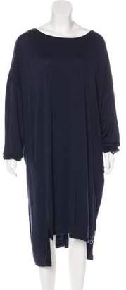 Y-3 Wool Knee-Length Dress