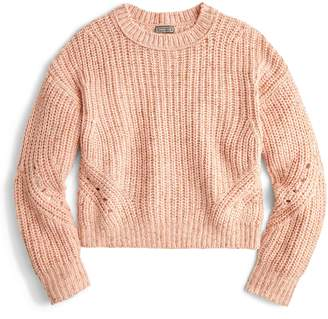 J.Crew Point Sur Chunky Rib Crewneck Sweater