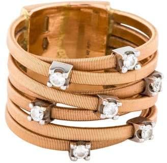 Marco Bicego 18K Diamond Goa Seven-Row Ring