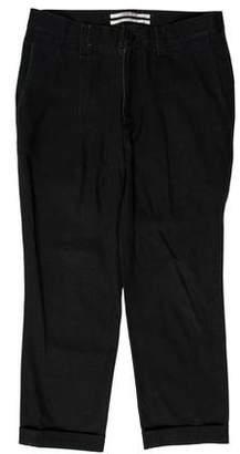 Robert Geller Cropped Skinny Pants