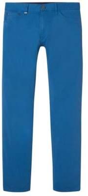 BOSS Hugo Cotton Pant, Regular Fit Maine 32/32 Blue