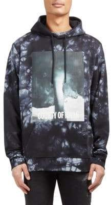 Marcelo Burlon County of Milan Nepen Tie Dye Cotton Hoodie